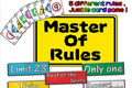 Master of Rules - Japon Brand 2007