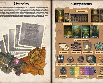 Boardgame Order of the Gilded Compass Bernd Eisenstein