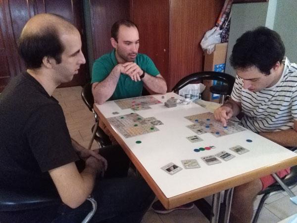 Brettspiel Peloponnes Turnier Bernd Eisenstein